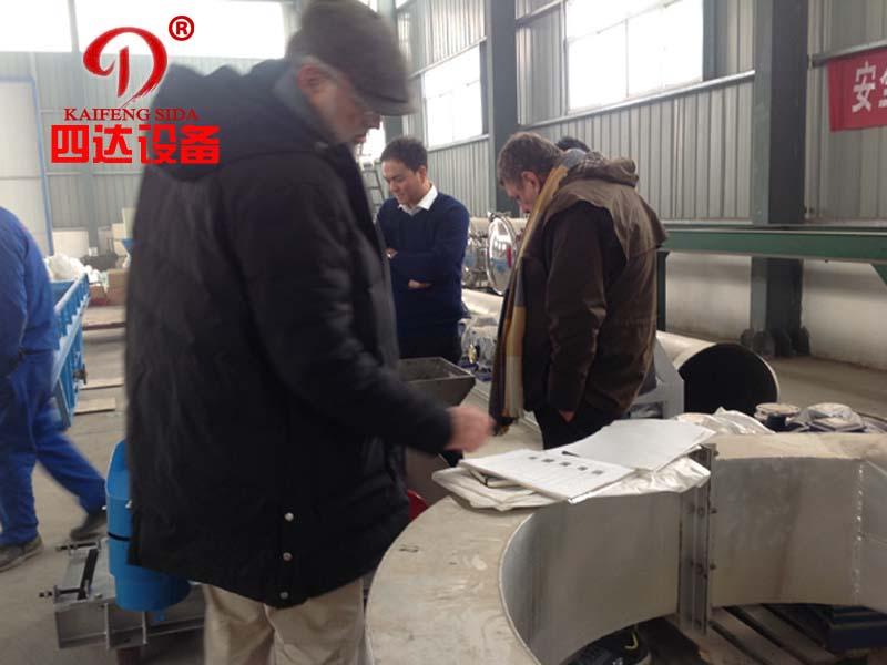 法国100吨木薯竞博job官网加工生产成套jbo竞博在线登录客户回访四达